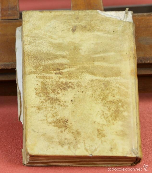 Libros antiguos: LP-296 - CARTAS CRÍTICAS SOBRE VARIAS QUESTIONES. TOMO IV. COSTANTINI. IMP. A. RAMIREZ. 1775. - Foto 10 - 60778427