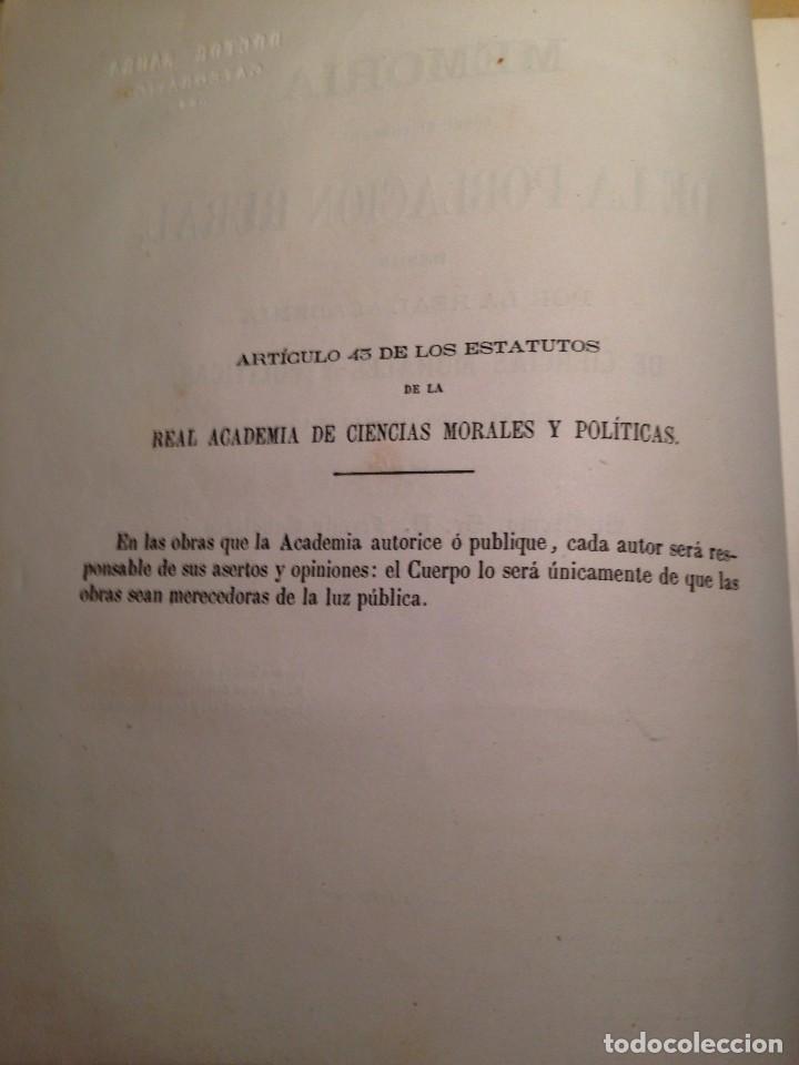 Libros antiguos: MEMORIA SOBRE EL FOMENTO DE LA POBLACION RURAL, FERMIN CABALLERO - Foto 2 - 66164914