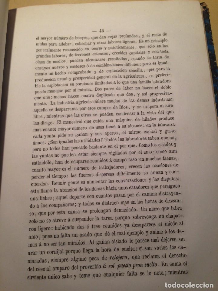 Libros antiguos: MEMORIA SOBRE EL FOMENTO DE LA POBLACION RURAL, FERMIN CABALLERO - Foto 4 - 66164914