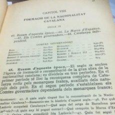 Libros antiguos: HISTORIA DE CATALUNYA PER MOSSEN NORBERT FONT I SAGUE 1921 VER FOTOS. Lote 75409723
