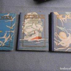 Libros antiguos: EL MAR. TRES TOMOS. Lote 113182511