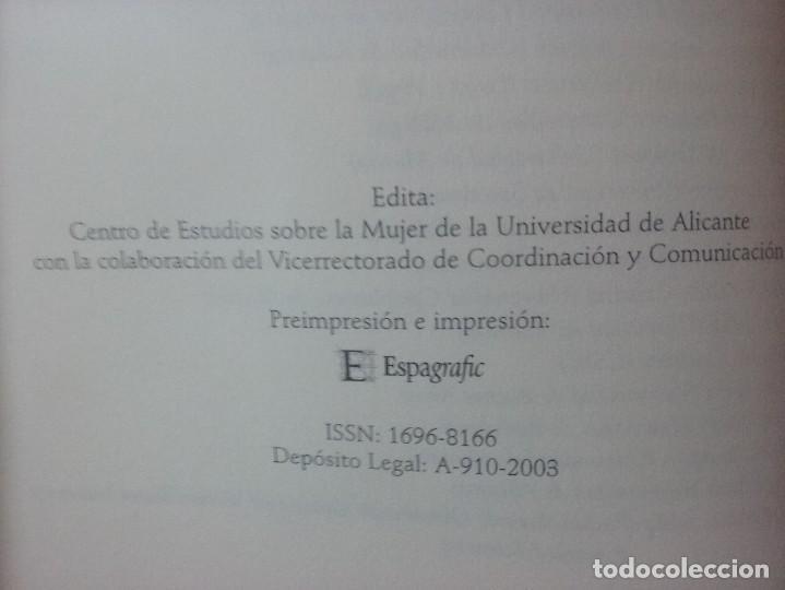 Libros antiguos: Imagin / ando a la mujer. Pilar Amador Carretero - Foto 2 - 113513019