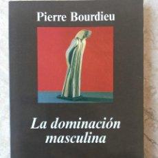 Libros antiguos: LA DOMINACIÓN MASCULINA. PIERRE BOURDIEU.. Lote 118640703