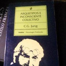 Libros antiguos: ARQUETIPOS E INCONSCIENTE COLECTIVO, C.G.JUNG, PAIDÓS.. Lote 121642799