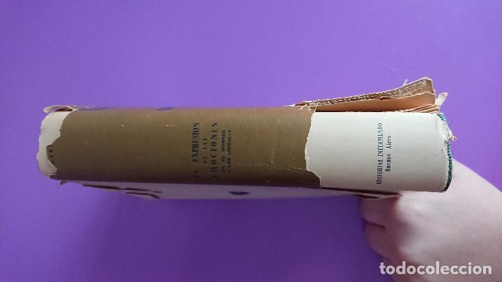 Libros antiguos: CARLOS DARWIN: LA EXPRESIÓN DE LAS EMOCIONES EN EL HOMBRE Y EN LOS ANIMALES - Foto 5 - 122988811