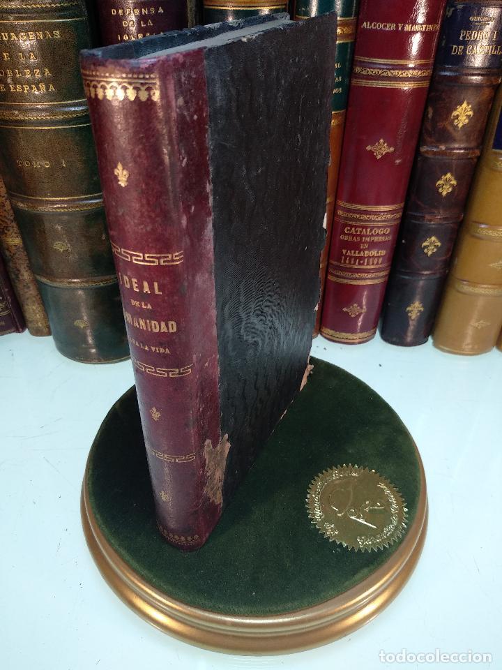 IDEAL DE LA HUMANIDAD PARA LA VIDA - CON INSTRUCCIONES Y COMENTARIOS - C. CHR. F. KRAUSE -1871 - (Libros Antiguos, Raros y Curiosos - Pensamiento - Sociología)