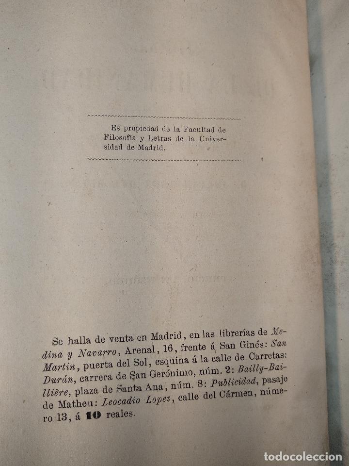 Libros antiguos: IDEAL DE LA HUMANIDAD PARA LA VIDA - CON INSTRUCCIONES Y COMENTARIOS - C. CHR. F. KRAUSE -1871 - - Foto 4 - 129645055