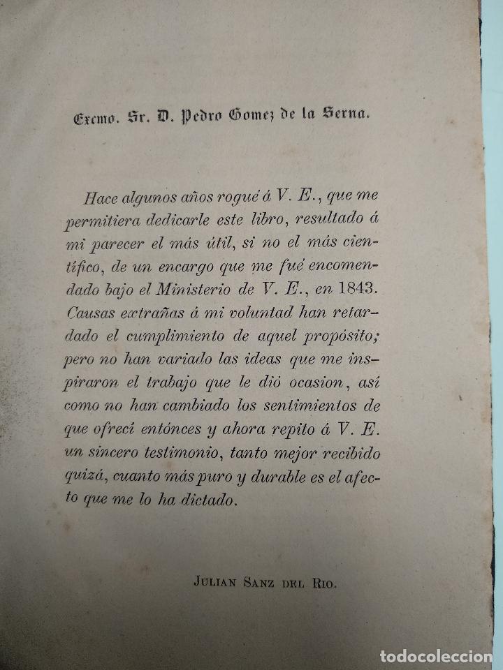 Libros antiguos: IDEAL DE LA HUMANIDAD PARA LA VIDA - CON INSTRUCCIONES Y COMENTARIOS - C. CHR. F. KRAUSE -1871 - - Foto 6 - 129645055