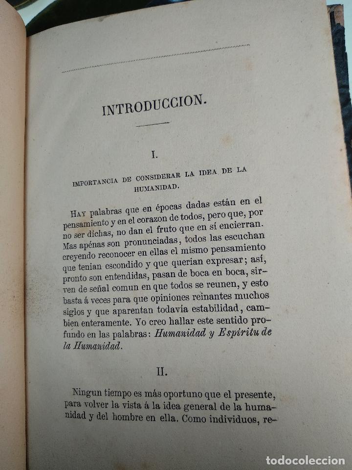 Libros antiguos: IDEAL DE LA HUMANIDAD PARA LA VIDA - CON INSTRUCCIONES Y COMENTARIOS - C. CHR. F. KRAUSE -1871 - - Foto 8 - 129645055