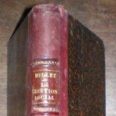 Libros antiguos: MILLET, JOSÉ M: LA CUESTION SOCIAL. 1872. Lote 131104044