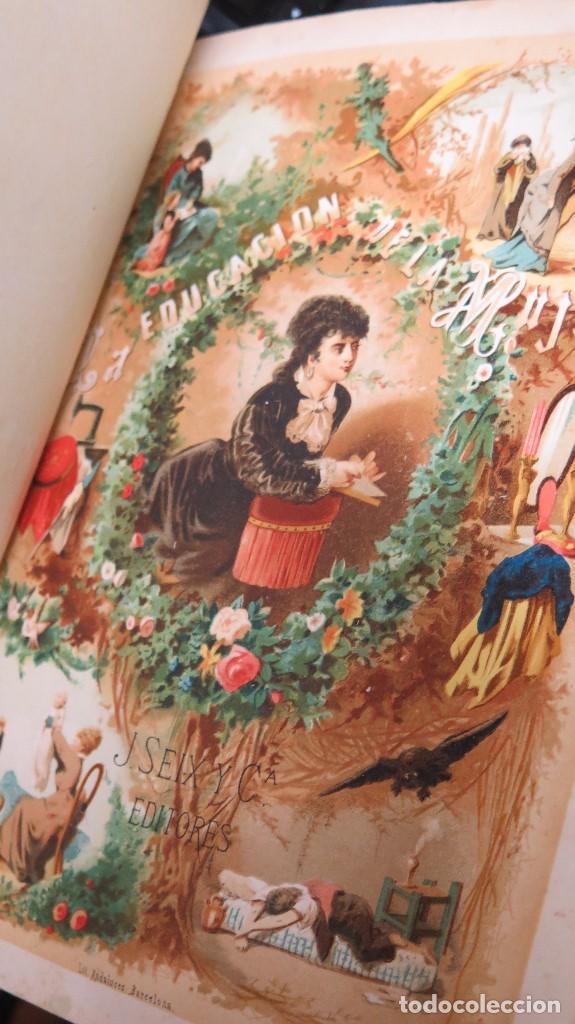 Libros antiguos: 1878.- LA EDUCACION DE LA MUJER. JOSE PANADES Y POBLET. 3 TOMOS - Foto 4 - 133347462