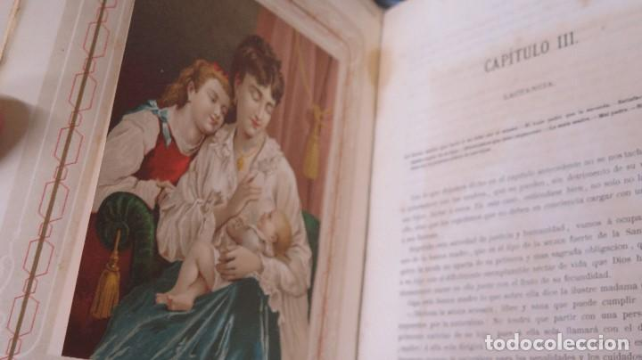 Libros antiguos: 1878.- LA EDUCACION DE LA MUJER. JOSE PANADES Y POBLET. 3 TOMOS - Foto 5 - 133347462