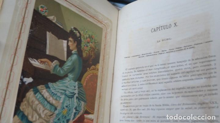 Libros antiguos: 1878.- LA EDUCACION DE LA MUJER. JOSE PANADES Y POBLET. 3 TOMOS - Foto 6 - 133347462