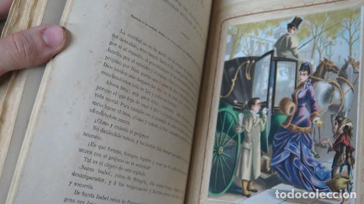 Libros antiguos: 1878.- LA EDUCACION DE LA MUJER. JOSE PANADES Y POBLET. 3 TOMOS - Foto 7 - 133347462