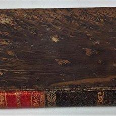 Libros antiguos: MANUAL DE LA URBANIDAD Y DEL DECORO. D. F. A. Y G. IMP. FRANCISCO PIFERRER. 1830.. Lote 137720154