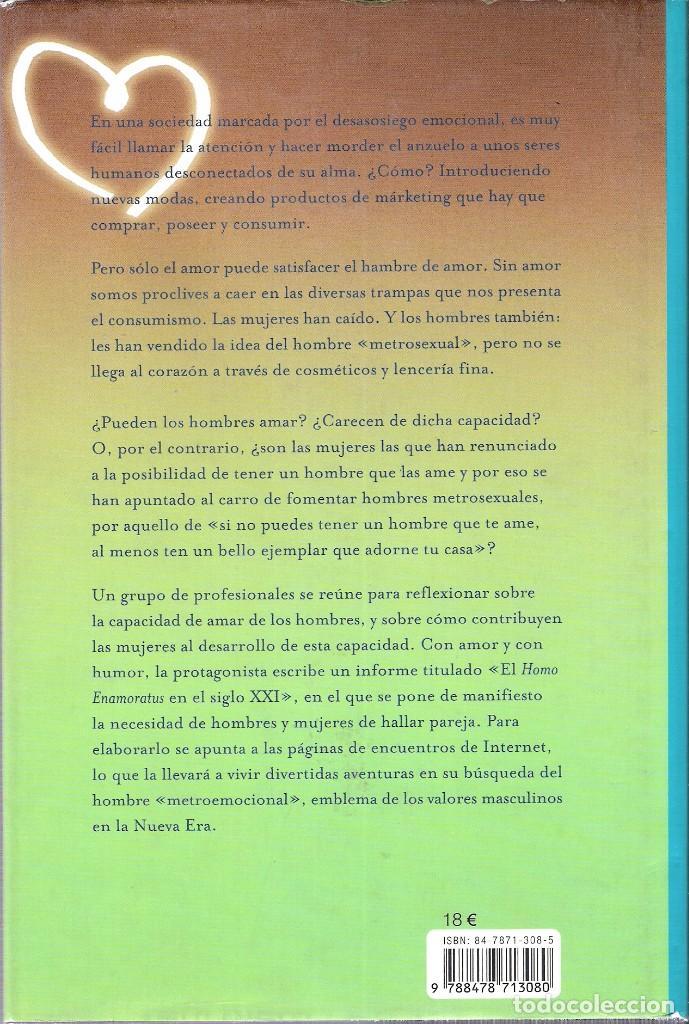 Libros antiguos: ROSETTA FORNER - EN BUSCA DEL HOMBRE METROEMOCIONAL - Foto 2 - 138705086