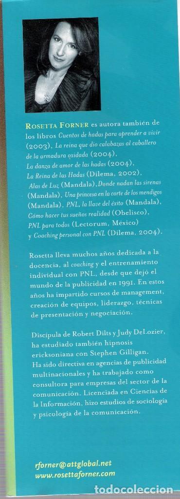 Libros antiguos: ROSETTA FORNER - EN BUSCA DEL HOMBRE METROEMOCIONAL - Foto 3 - 138705086