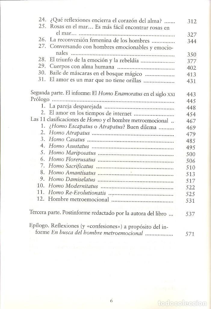 Libros antiguos: ROSETTA FORNER - EN BUSCA DEL HOMBRE METROEMOCIONAL - Foto 5 - 138705086