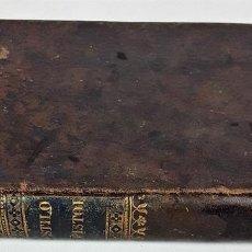 Libros antiguos: MANUAL DE ESTILO EPISTOLAR. D. F. B. IMPRENTA DE CABRERIZO. VALENCIA. 1838.. Lote 140278854