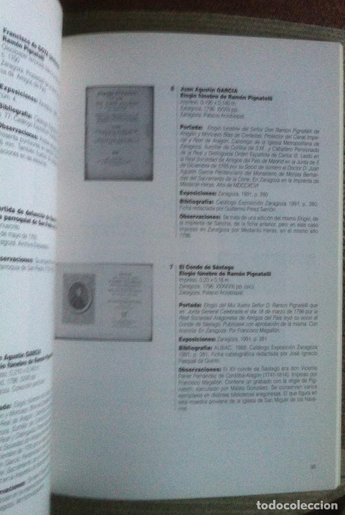 Libros antiguos: Ramon Pignatelli y su época. Catálogo Exposición. Gobierno de Aragon 1996 EX - Foto 3 - 140951938