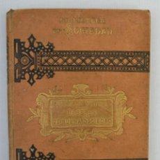 Libros antiguos: DEBERES DE BUENA SOCIEDAD-CAMILO FABRA-LIBRERIA DE JUAN Y ANTONIO BASTINOS,1884. Lote 143625310