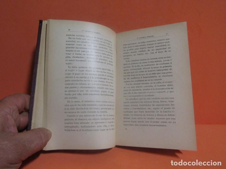 Libros antiguos: VIZCONDESA BESTARD DE LA TORRE LA ELEGANCIA EN EL TRATO SOCIAL LIBRERIA GUTEMBERG AÑO 1901 EXCELENTE - Foto 5 - 147775242