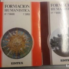 Libros antiguos: FORMACION HUMANISTICA.F.P/1ER GRADO.EDITEX .1ER CURSO Y 2 CU. Lote 151721162
