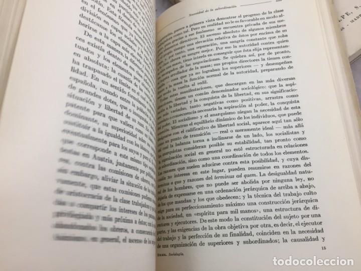Libros antiguos: Sociología Jorge Simmel 2 tomos 1939 Espasa Calpe buen estado. Rústica original - Foto 11 - 152920502