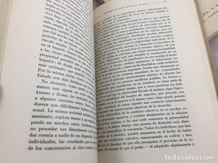 Libros antiguos: Sociología Jorge Simmel 2 tomos 1939 Espasa Calpe buen estado. Rústica original - Foto 13 - 152920502