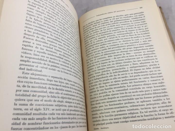 Libros antiguos: Sociología Jorge Simmel 2 tomos 1939 Espasa Calpe buen estado. Rústica original - Foto 15 - 152920502