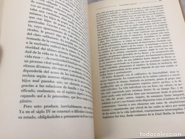 Libros antiguos: Sociología Jorge Simmel 2 tomos 1939 Espasa Calpe buen estado. Rústica original - Foto 17 - 152920502