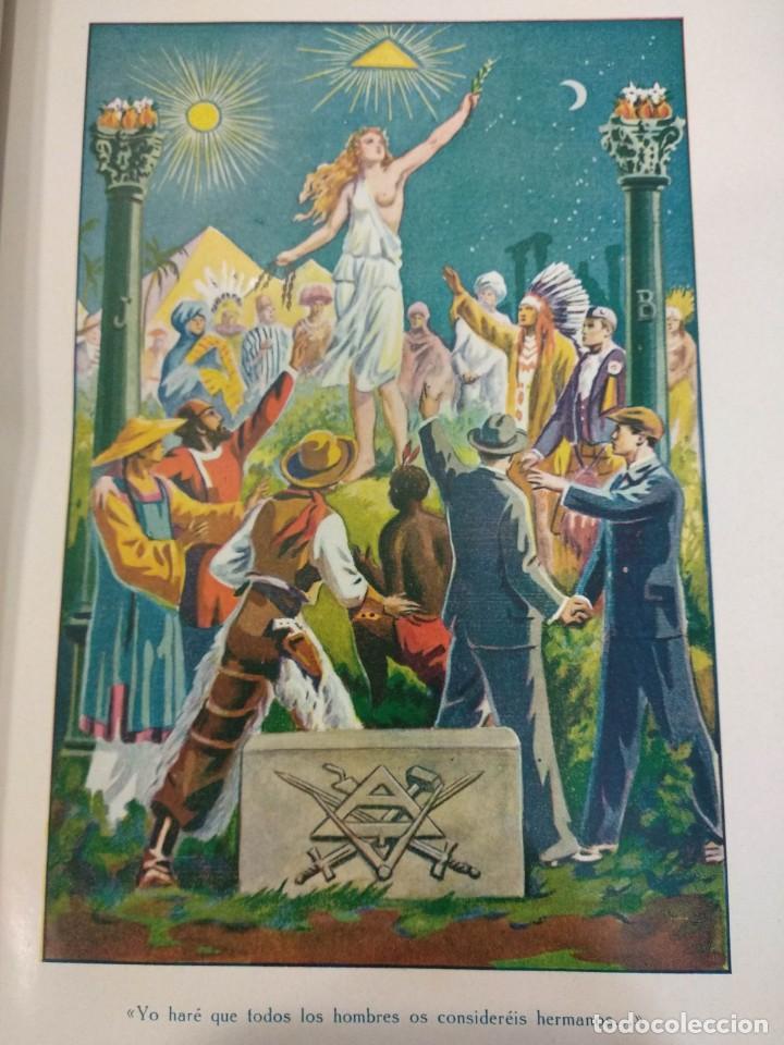 Libros antiguos: CASSARD , ANDRES - MANUAL DE LA MASONERIA EL TEJADOR DE LOS RITOS ANTIGUOS ESCOCES, FRANCES Y DE ADO - Foto 6 - 157966630