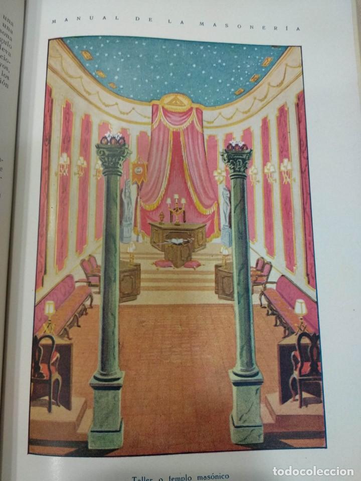 Libros antiguos: CASSARD , ANDRES - MANUAL DE LA MASONERIA EL TEJADOR DE LOS RITOS ANTIGUOS ESCOCES, FRANCES Y DE ADO - Foto 7 - 157966630