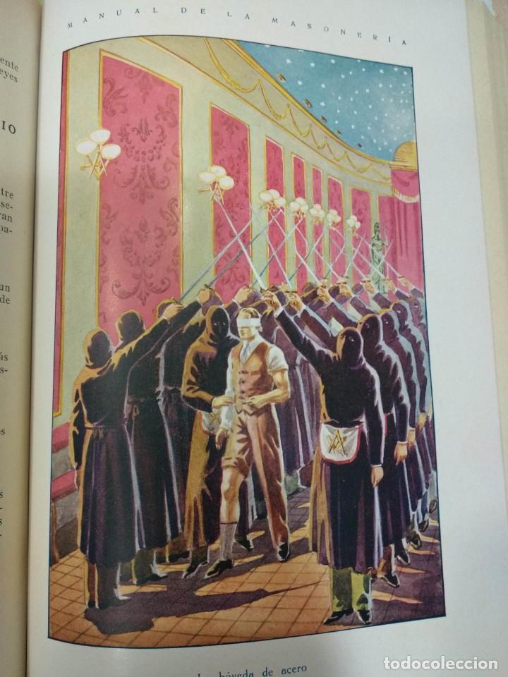 Libros antiguos: CASSARD , ANDRES - MANUAL DE LA MASONERIA EL TEJADOR DE LOS RITOS ANTIGUOS ESCOCES, FRANCES Y DE ADO - Foto 8 - 157966630