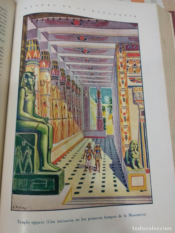 Libros antiguos: CASSARD , ANDRES - MANUAL DE LA MASONERIA EL TEJADOR DE LOS RITOS ANTIGUOS ESCOCES, FRANCES Y DE ADO - Foto 9 - 157966630