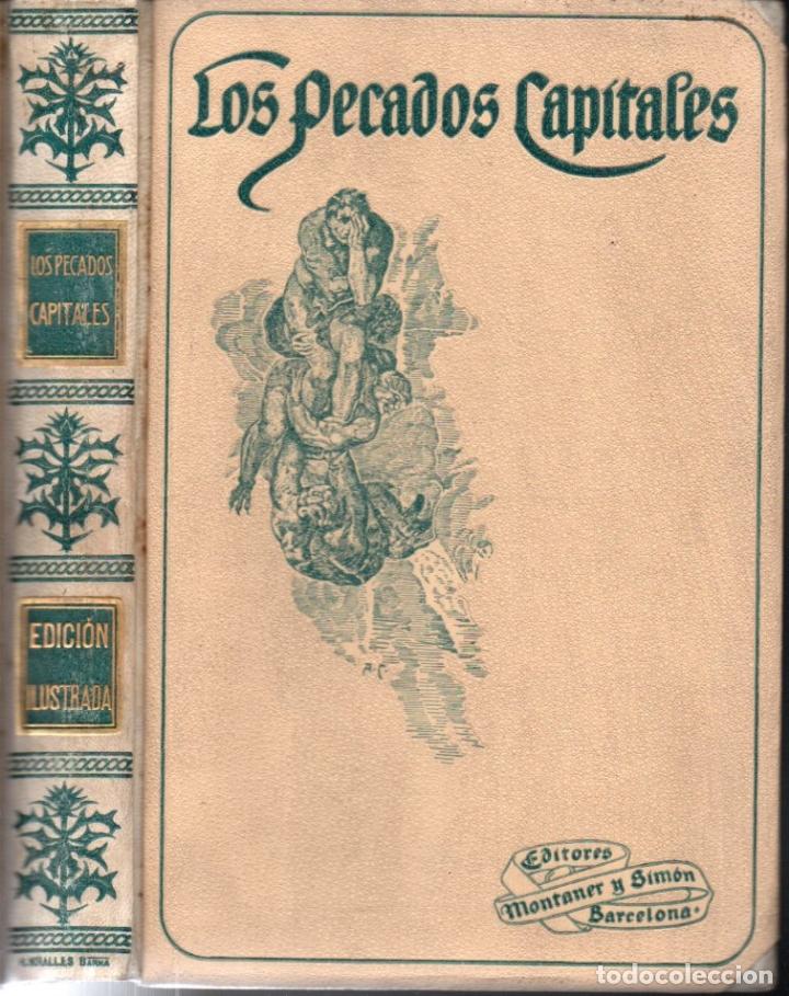 VIADA Y LLUCH : LOS PECADOS CAPITALES (MONTANER Y SIMÓN, 1915) (Libros Antiguos, Raros y Curiosos - Pensamiento - Sociología)