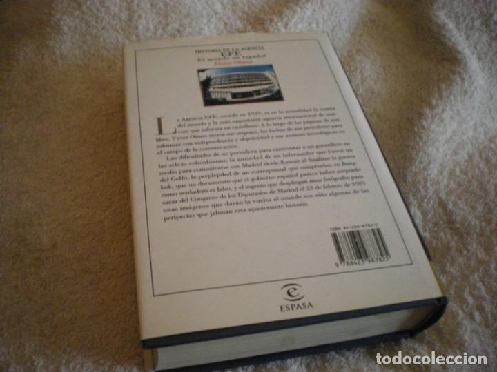 Libros antiguos: LIBRO HISTORIA DE LA AGENCIA EFE EL MUNDO EN ESPAÑOL - Foto 4 - 169644012