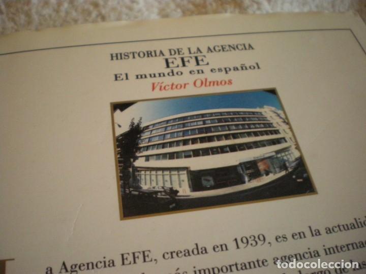 Libros antiguos: LIBRO HISTORIA DE LA AGENCIA EFE EL MUNDO EN ESPAÑOL - Foto 5 - 169644012