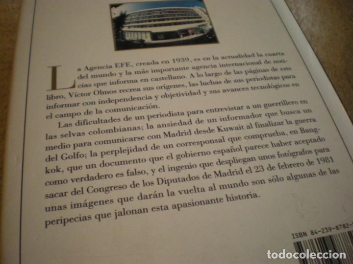 Libros antiguos: LIBRO HISTORIA DE LA AGENCIA EFE EL MUNDO EN ESPAÑOL - Foto 6 - 169644012