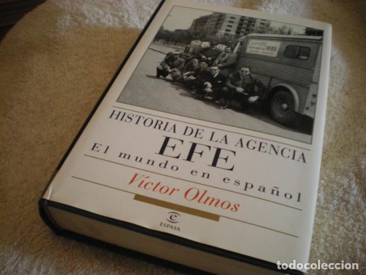 Libros antiguos: LIBRO HISTORIA DE LA AGENCIA EFE EL MUNDO EN ESPAÑOL - Foto 10 - 169644012