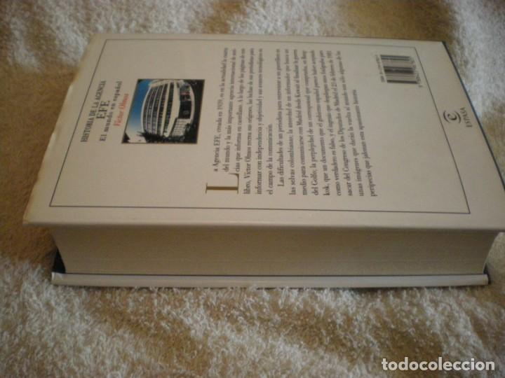 Libros antiguos: LIBRO HISTORIA DE LA AGENCIA EFE EL MUNDO EN ESPAÑOL - Foto 11 - 169644012