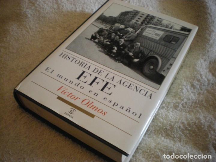 Libros antiguos: LIBRO HISTORIA DE LA AGENCIA EFE EL MUNDO EN ESPAÑOL - Foto 12 - 169644012