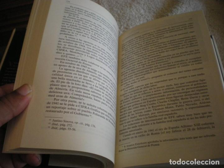Libros antiguos: LIBRO HISTORIA DE LA AGENCIA EFE EL MUNDO EN ESPAÑOL - Foto 14 - 169644012