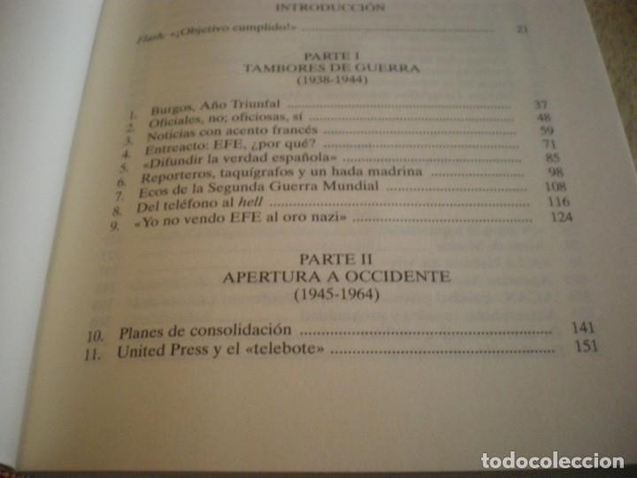 Libros antiguos: LIBRO HISTORIA DE LA AGENCIA EFE EL MUNDO EN ESPAÑOL - Foto 18 - 169644012