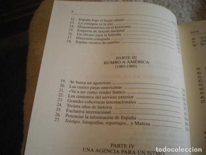 Libros antiguos: LIBRO HISTORIA DE LA AGENCIA EFE EL MUNDO EN ESPAÑOL - Foto 19 - 169644012