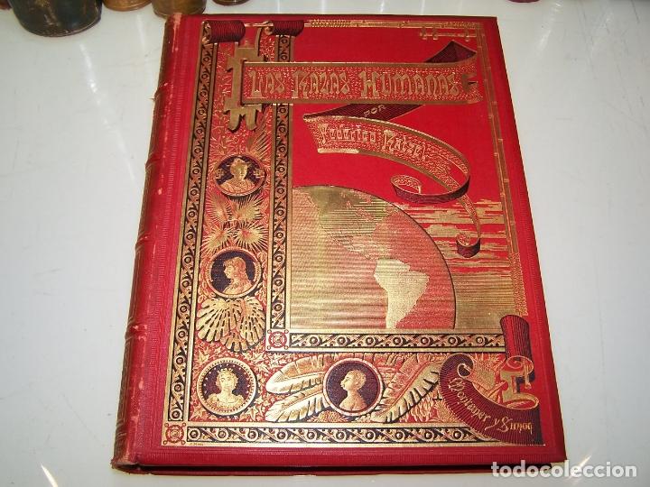 Libros antiguos: Las razas humanas. Federico Ratzel. 2 tomos. Montaner y Simon. Barcelona. 1888. - Foto 2 - 170858015