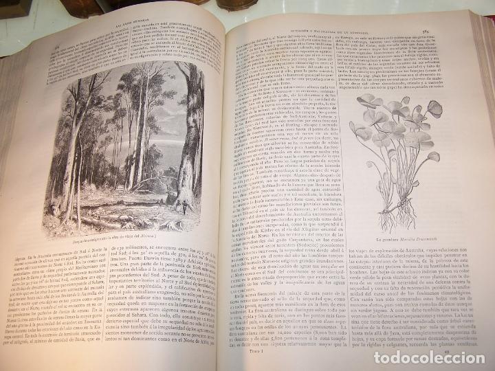 Libros antiguos: Las razas humanas. Federico Ratzel. 2 tomos. Montaner y Simon. Barcelona. 1888. - Foto 10 - 170858015