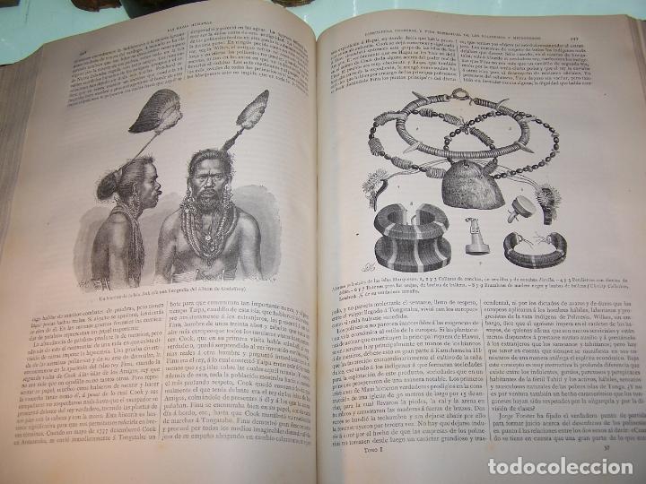 Libros antiguos: Las razas humanas. Federico Ratzel. 2 tomos. Montaner y Simon. Barcelona. 1888. - Foto 11 - 170858015