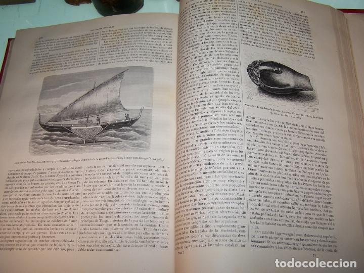 Libros antiguos: Las razas humanas. Federico Ratzel. 2 tomos. Montaner y Simon. Barcelona. 1888. - Foto 12 - 170858015