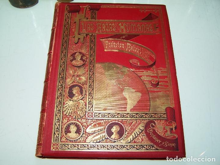 Libros antiguos: Las razas humanas. Federico Ratzel. 2 tomos. Montaner y Simon. Barcelona. 1888. - Foto 15 - 170858015